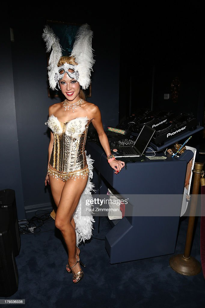 DJ Meena Morera attends Sir Ivan's Sailors and Sinners Soiree on September 1, 2013 in Water Mill, New York.
