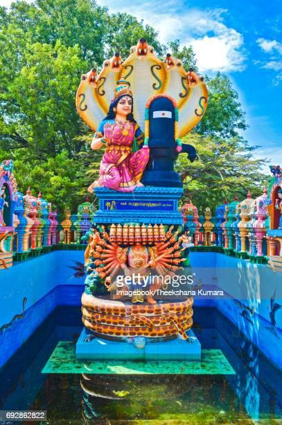 Meenakshi statue