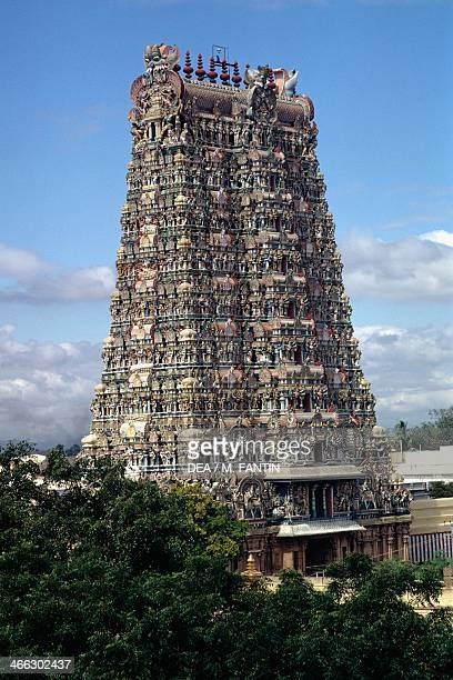 Meenakshi Temple Madurai Tamil Nadu India 17th century