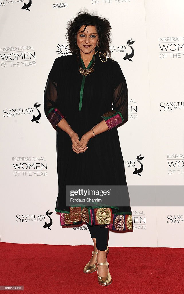 Meera Sayal attends The Daily Mail Inspirational Women of the Year Awards, sponsored by Sanctuary Spa and in aid of Wellbeing of Women, at Marriott Hotel Grosvenor Square on November 12, 2012 in London, England.