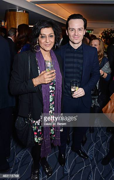 Meera Syal and Andrew Scott attend a gastronomic Mexican lunch prepared by 6 of the country's finest chefs to celebrate the Year of Mexico in the UK...