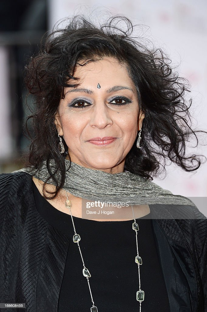 <a gi-track='captionPersonalityLinkClicked' href=/galleries/search?phrase=Meera+Syal&family=editorial&specificpeople=217491 ng-click='$event.stopPropagation()'>Meera Syal</a> attends the BAFTA TV Awards 2013 at The Royal Festival Hall on May 12, 2013 in London, England.