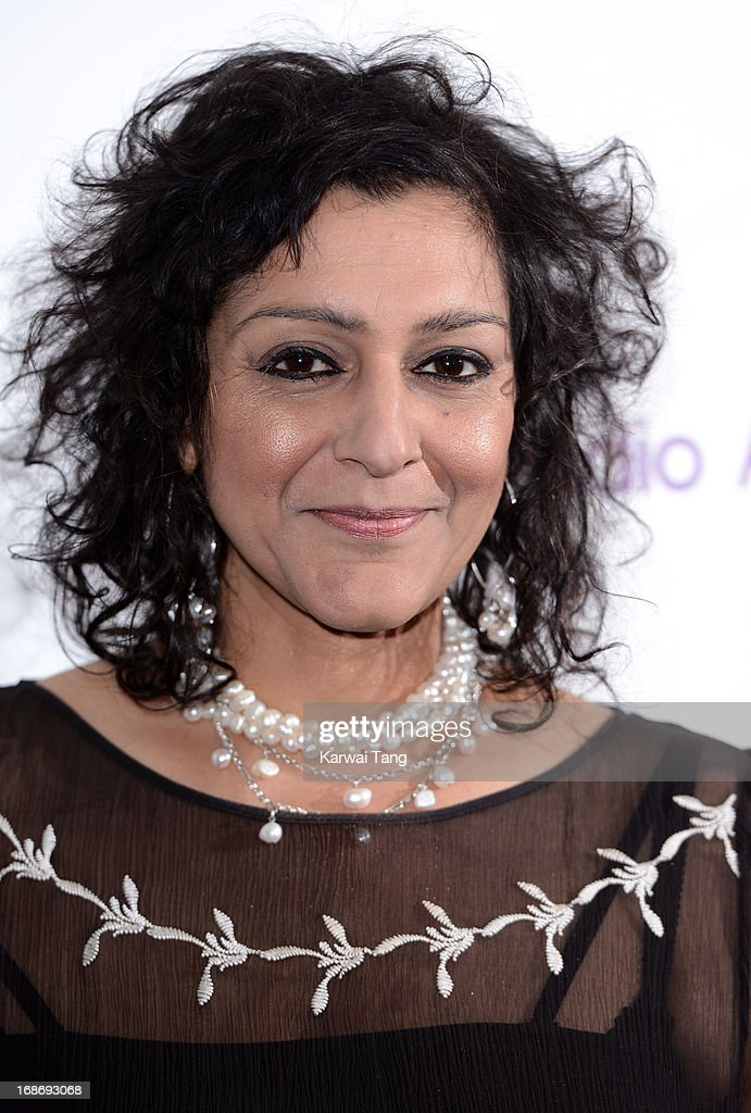 <a gi-track='captionPersonalityLinkClicked' href=/galleries/search?phrase=Meera+Syal&family=editorial&specificpeople=217491 ng-click='$event.stopPropagation()'>Meera Syal</a> attends the Sony Radio Academy Awards at The Grosvenor House Hotel on May 13, 2013 in London, England.