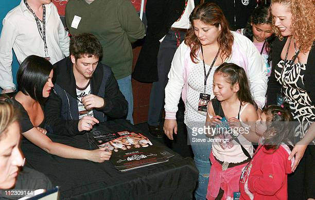 RBD meet fans during RBD Album Premiere Event Presented by Verizon at The Fillmore in San Francisco California United States