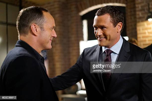 S AGENTS OF SHIELD 'Meet the New Boss' Daisy goes to battle Ghost Rider at a terrible cost and Coulson faces the new Director and his bold agenda...