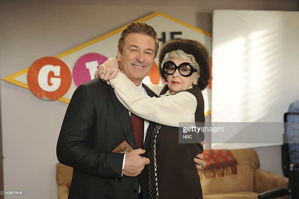 30 ROCK -- 'Meet the Woggels' Episode 617 -- Pictured: (l-r) <a gi-track='captionPersonalityLinkClicked' href=/galleries/search?phrase=Alec+Baldwin&family=editorial&specificpeople=202864 ng-click='$event.stopPropagation()'>Alec Baldwin</a> as Jack Donaghy, <a gi-track='captionPersonalityLinkClicked' href=/galleries/search?phrase=Elaine+Stritch&family=editorial&specificpeople=206452 ng-click='$event.stopPropagation()'>Elaine Stritch</a> as Colleen Donaghy --