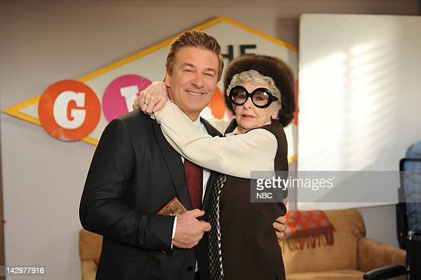 30 ROCK 'Meet the Woggels' Episode 617 Pictured Alec Baldwin as Jack Donaghy Elaine Stritch as Colleen Donaghy