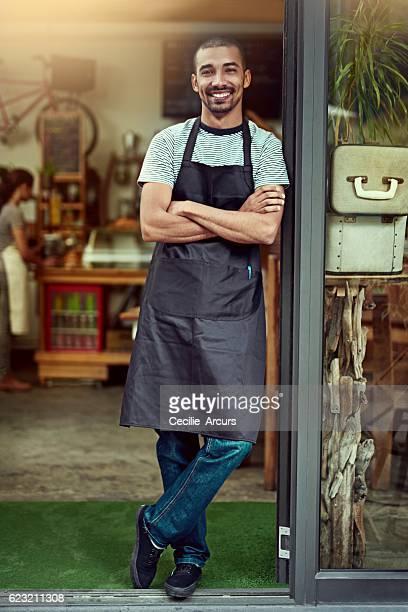 Meet your friendly neighborhood barista