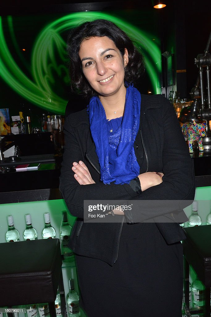 Meetic France Director Jessica Delpirou attends the 'Meetic' Dating Party at the Mojito Club on February 5, 2013 in Paris, France.