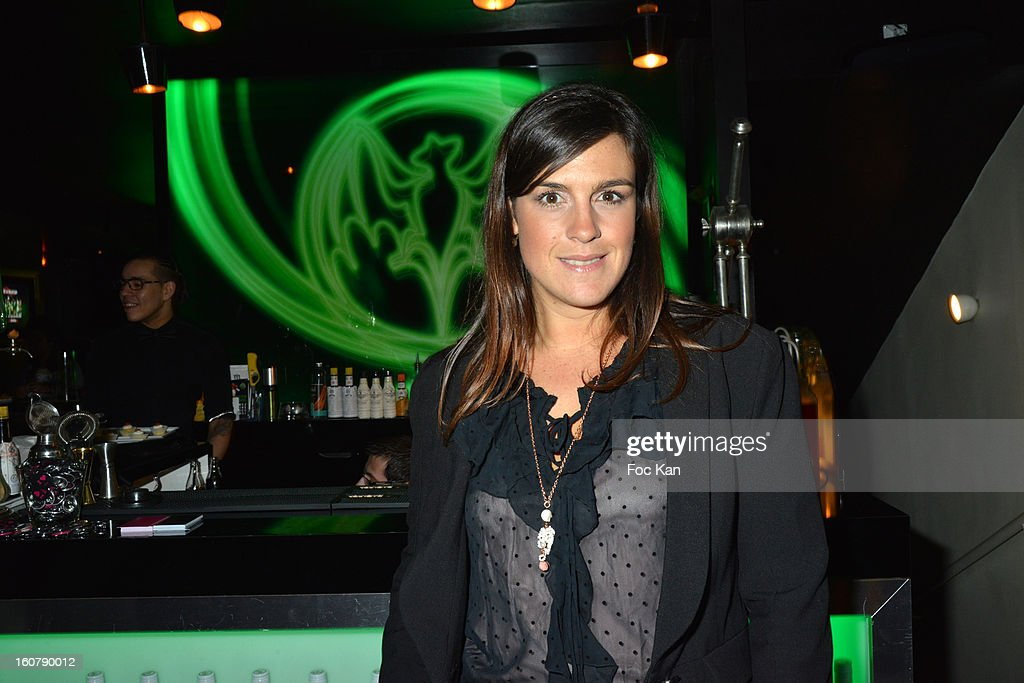 Meetic France Model Ericka Berset attends the 'Meetic' Dating Party at the Mojito Club on February 5, 2013 in Paris, France.