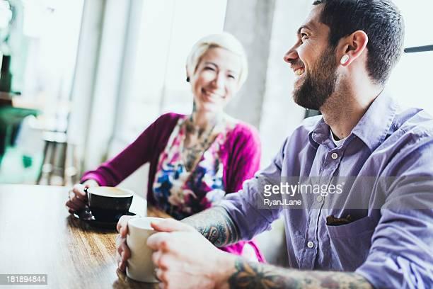 Meeting im Coffee Shop