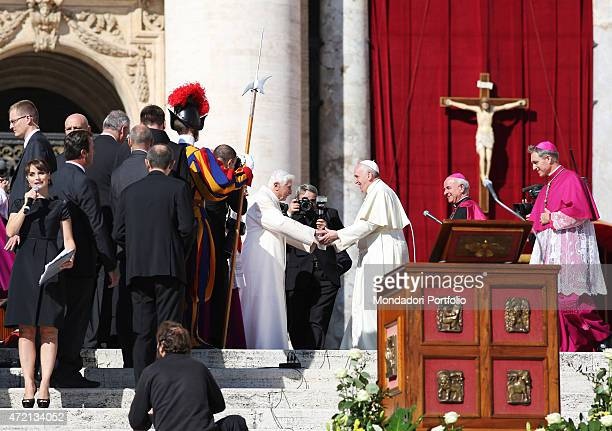 'Meeting between Pope Francis and elderly people from around the world entitled 'The blessing of a long life' On the churchyard of St Peter's...