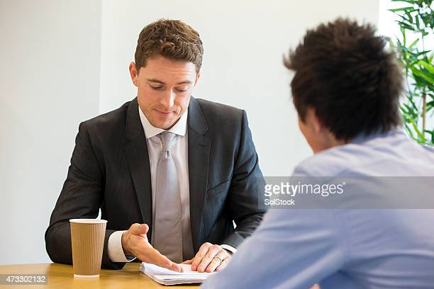 Meeting Between Student and Teacher