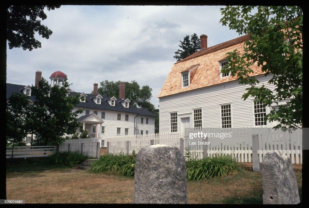 Meeting House of Canterbury Shaker Village