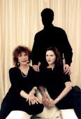 Meeting Justine Levy And Madeleine Chapsal Photomontage Madeleine CHAPSAL auteur du livre 'L'homme de ma vie' aux éditions Fayard et Justine LEVY...
