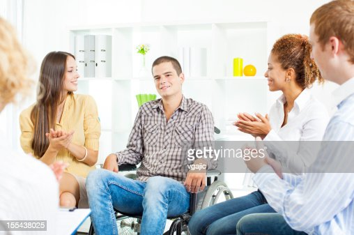 Meeting of Support Group.