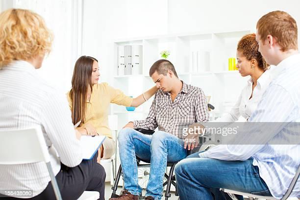 Reunión del grupo de apoyo.