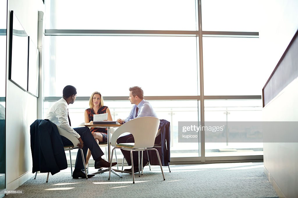 Meeting of the minds : Stock Photo