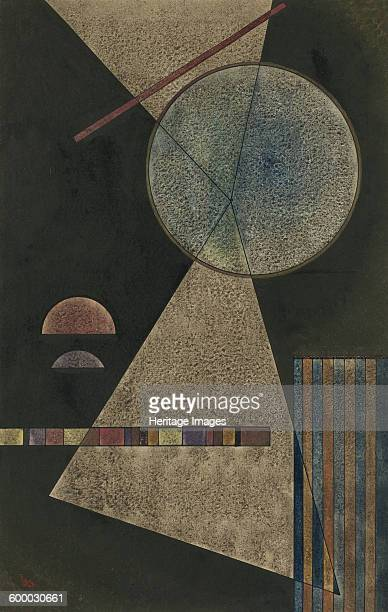 Meeting Point 1928 Private Collection Artist Kandinsky Wassily Vasilyevich