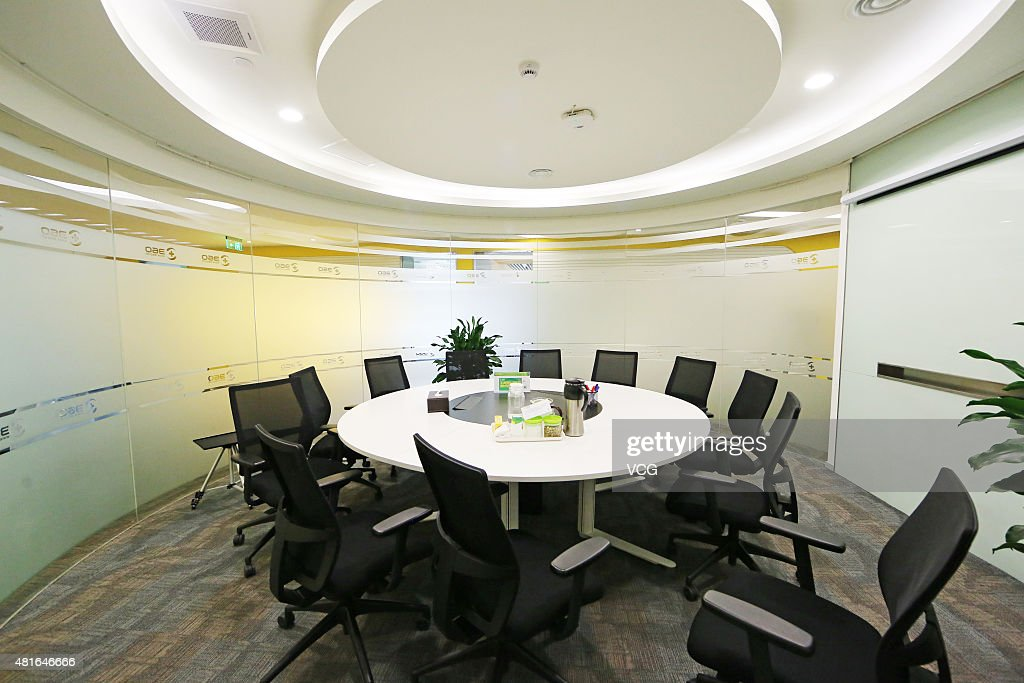 Meeting room in office building of Qihoo 360 Technology Co Ltd on March 10 2015 in Beijing China Qihoo 360 Technology Co Ltd is a leading Chinese...