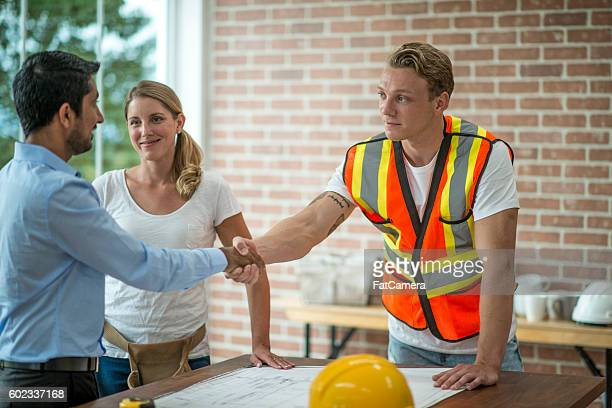 Meeting the Construction Team