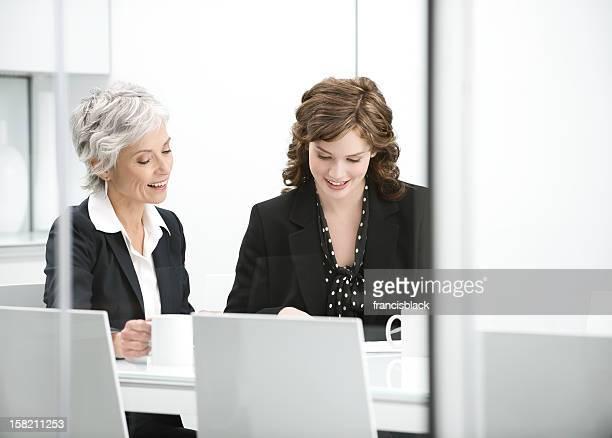 Incontro con donna d'affari matura