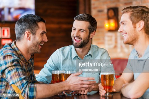 Meeting with the best friends. : Stock Photo
