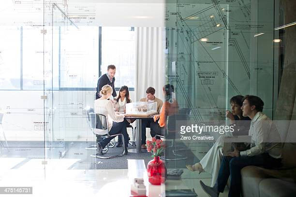 Meetings in architects office
