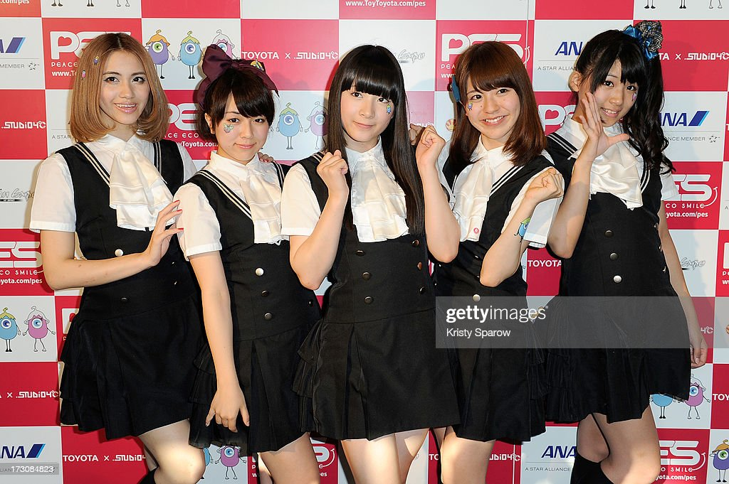 AOP meets with the press during the Japan Expo at Paris-nord Villepinte Exhibition Center on July 6, 2013 in Paris, France.