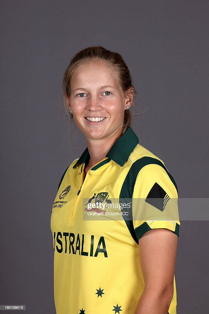 Meg Lanning of Australia attends a portrait session ahead of the ICC Womens World Cup 2013 at the Taj Mahal Palace Hotel on January 27, 2013 in Mumbai, India.
