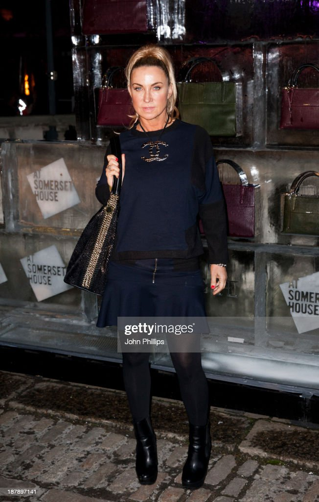 Meg Mathews attends the launch of Skate at Somerset House on November 13, 2013 in London, England.