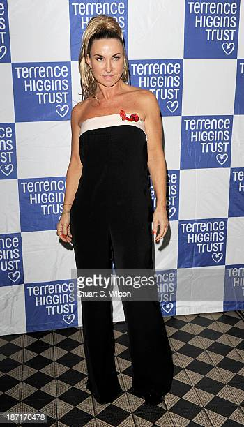 Meg Matthews attends 'The Supper Club' in aid of The Terrance Higgins Trust at One Mayfair on November 6 2013 in London England
