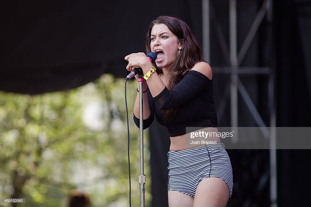 <a gi-track='captionPersonalityLinkClicked' href=/galleries/search?phrase=Meg+Myers&family=editorial&specificpeople=12769876 ng-click='$event.stopPropagation()'>Meg Myers</a> performs during the 2014 Lollapalooza at Grant Park on August 2, 2014 in Chicago, Illinois.