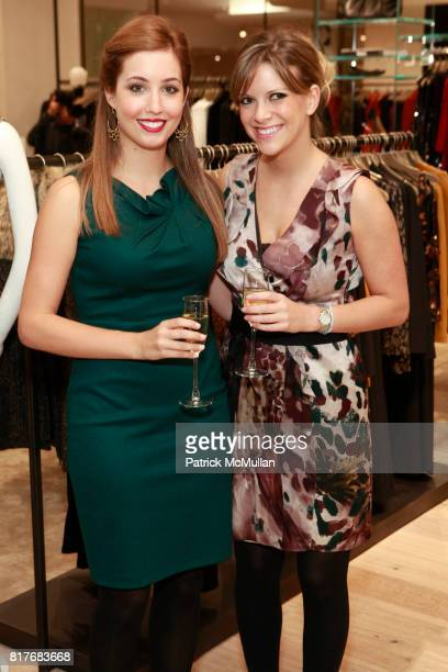 Meg Padberg and Lyndsey Hefer attend ELIE TAHARI RONALD FRASCH And KATIE CASSIDY Celebrate The Opening of The Elie Tahari Boutique at Saks Fifth...