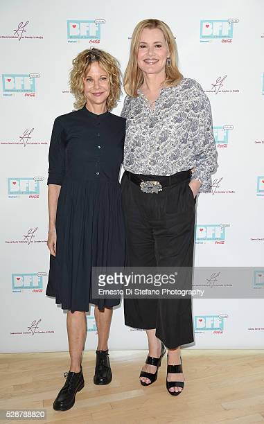Meg Ryan and Geena Davis attend Geena Davis' 2nd Annual Bentonville Film Festival Championing Women And Diverse Voices In Media Day 4 on May 6 2016...
