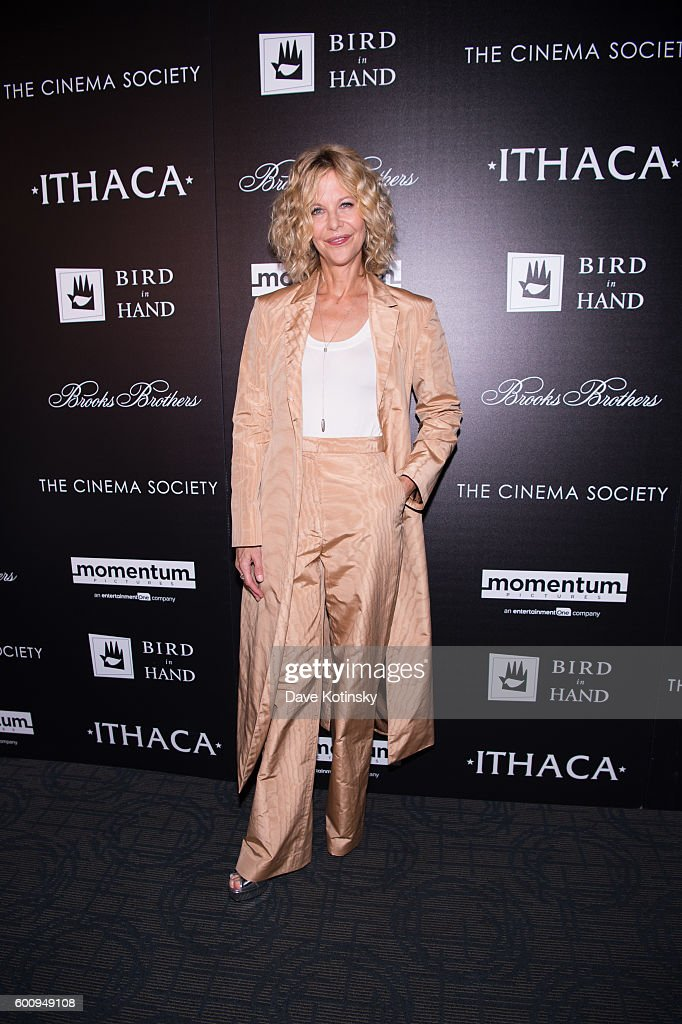 """The Cinema Society with Brooks Brothers and Bird In Hand host a screening of Momentum Pictures' """"Ithaca"""" - Arrivals"""
