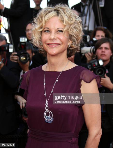 Meg Ryan attends the premiere of 'Countdown To Zero' held at the Palais des Festivals during the 63rd Annual International Cannes Film Festival on...
