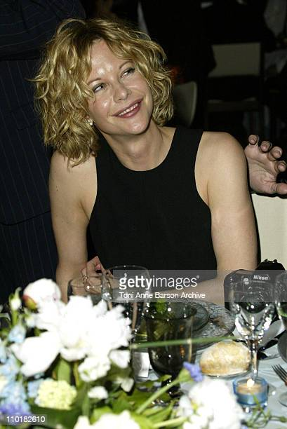 Meg Ryan during 2003 Cannes Film Festival Closing Ceremony Dinner at Palais Des Festival in Cannes France
