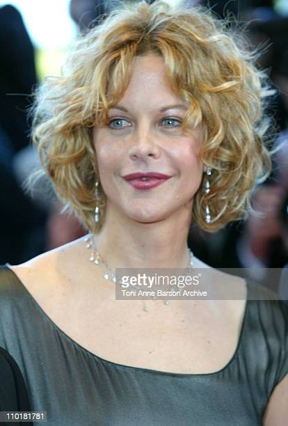 Meg Ryan during 2003 Cannes Film Festival 'Fanfan La Tulipe' Opening Night Premiere at Palais des Festivals in Cannes France