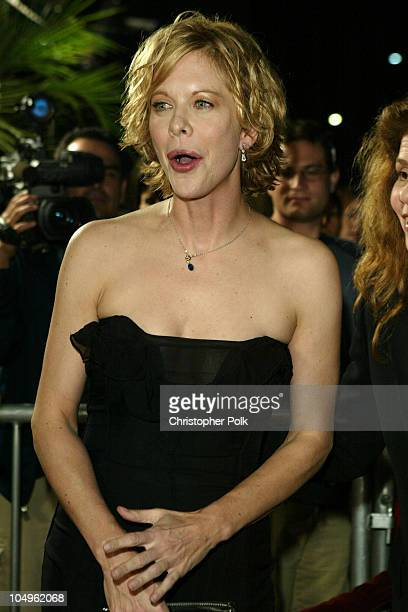 Meg Ryan during 'In The Cut' Los Angeles Premiere at Academy of Motion Pictures Arts and Sciences in Beverly Hills California United States