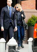 Celebrity Sightings in New York City - January 21, 2018