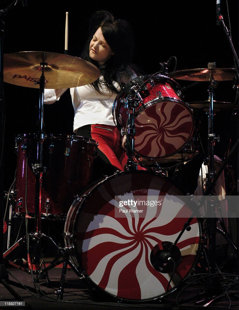 The White Stripes in concert at the Masonic Temple Theater in Detroit