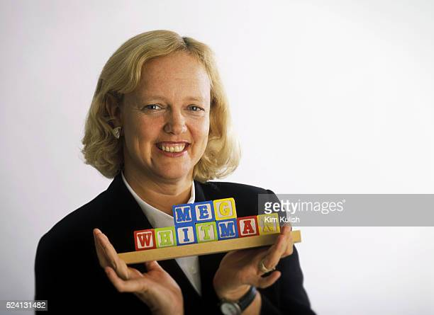 Meg Whitman President and CEO of eBay at their headquarters