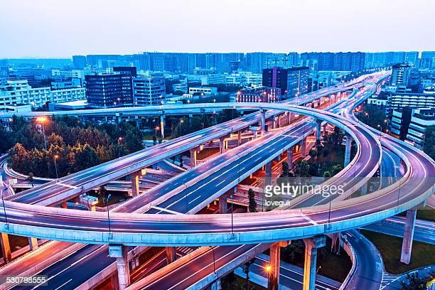 Megacity Highway in chengdu china
