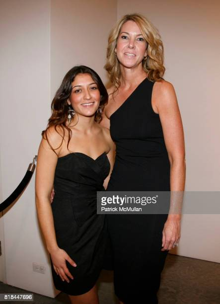 Megan Branch and Sarah Hasted attend ERWIN OLAF Opening Reception at Hasted Hunt Kraeutler on January 28 2010 in New York