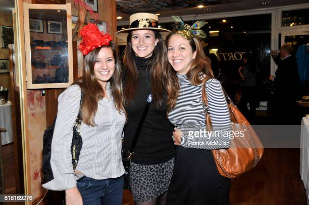 Megan Conway Taylor Whittell and Jamie Belleggie attend BELLE PLAGE CLOTHING Holiday Party Spring 2011 Preview at Worth Worth on November 30 2010 in...