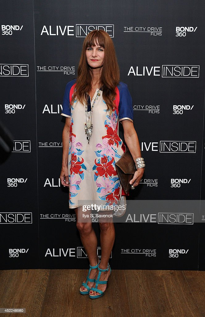 Megan DiCiurcio attends the 'Alive Inside' premiere at Crosby Street Hotel on July 16, 2014 in New York City.