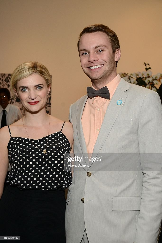 Megan Ferguson and guest attend the UNICEF NextGen Los Angeles launch at LACMA on May 9, 2013 in Los Angeles, California.