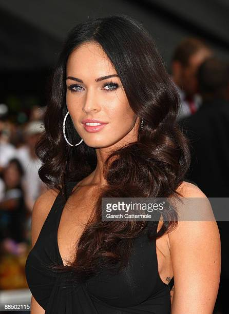 Megan Fox arrives for the Transformers Revenge of the Fallen Premiere at Odeon Leicester Square on June 15 2009 in London England