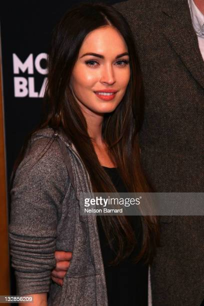 Megan Fox atteds curtain call for MONTBLANC Presents The 10th Annual Production of 'The 24 Hour Plays On Broadway' at The American Airlines Theater...